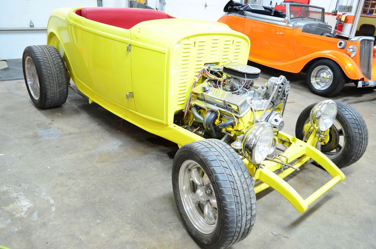 Shusta Custom Interior Hot Street Rat Rod Upholstery