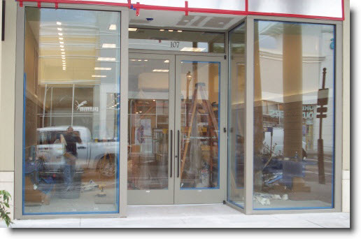 Tempered glass doors ny glass company new york emergency for Window and door store