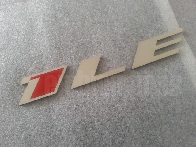 2012 - 2014 Camaro 1LE emblems - Mirror Stainless Steel / Colors