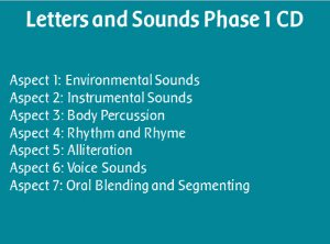 Letters And Sounds Phase 1 CD
