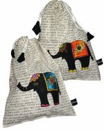 fairtrade drawstring bags for children, fairtrade gift ideas for children, presents for children tha