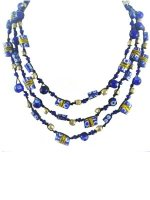 African trade bead necklace, handmade and fairtrade jewellery