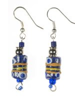 African earrings, handmade and fairtrade jewellery