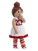 Handmade and Fairtrade toys , ballerina doll