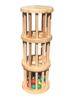 Fair Trade Toys-wooden rainstick
