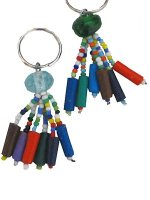 Fair-trade online- beaded keyrings