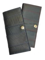  recycled inner tube wallets