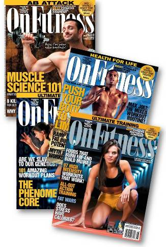 OnFitness America's BEST Fitness and Health Magazine!