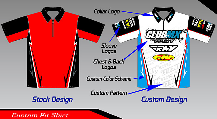 Roost MX Motocross Graphics Pit Shirts