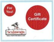 ScalawagsOnline.com Gift Certificate