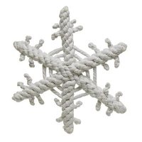 Snowflake Rope Dog Toy