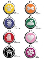 Red Dingo Pet ID Tags
