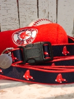 Red Sox Collar & Leash