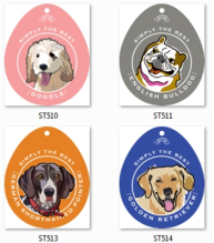 Breed Specific Dog Decals