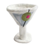Olive Martini Dog Toy